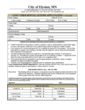 Rental License Application – Long Term