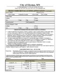 Rental License Application – Short Term